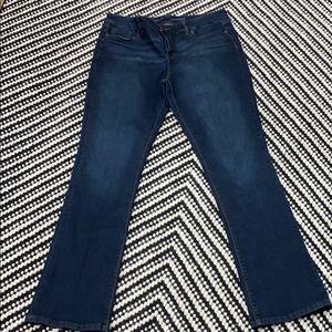 Size 14 bootcut dark wash jeans